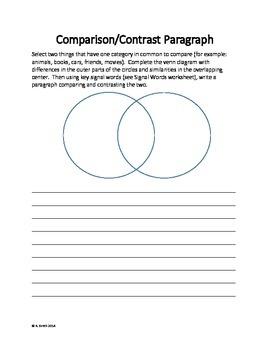 Comparison and Contrast Essay