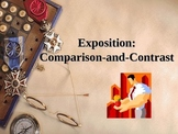 Comparison and Contrast Exposition Writing PowerPoint