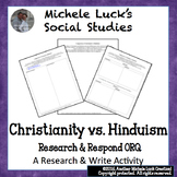 Comparison of Christianity to Hinduism Research ORQ