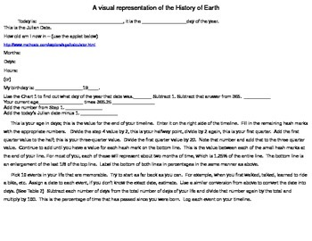 Comparison of the Life of a Teenager and the History of the Earth