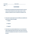 Comparison/Contrast Essay Peer Edit Sheet