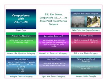 Comparisons As...+...As PowerPoint Presentation