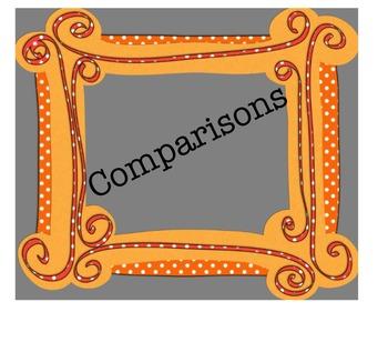 Comparisons Avancemos 3.2