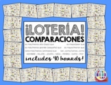 Comparisons LOTERIA/BINGO in Spanish with sentences