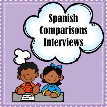 Comparisons Of Equality And Inequality Interviews (Spanish Comparisons)