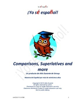 Comparisons, Superlatives and more
