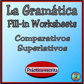 Comparatives and Superlatives Reference Chart
