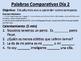 Comparisons in Spanish (regular and irregular)