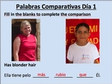 Comparisons in Spanish (regular and irregular)