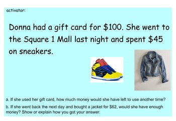 Comparisons with Word Problems