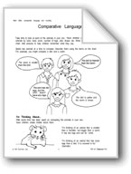Comparitive Language and Other Math Activities