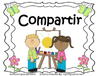 Compartir - A Social Story About Sharing