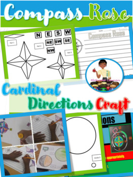 Compass Rose Craft and Writing | Social Studies Activity/ Map Skills