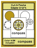 Compass - Cut & Paste Craft - Super Easy Perfect for Pre-K