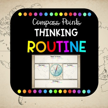 Compass Points Thinking Routine