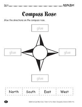 Compass Rose: Cardinal Directions