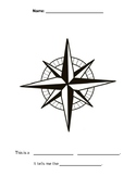 Compass Rose Directions Labeling Worksheet