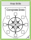 Compass Rose Interactive Notebook Activity