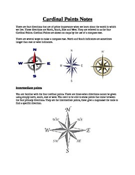Compass Rose Notes