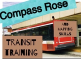 Compass Rose: Subway Directions Cut and Paste