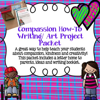 Compassion Project How-To Writing/Art Packet