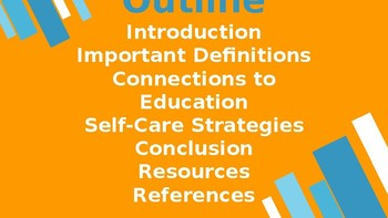 Compassion Satisfaction and Compassion Fatigue in Education PowerPoint