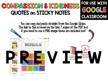 Compassion And Kindness Quotes On Sticky Notes By Kirsten