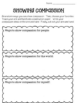 Compassion/Kindness Virtue of the Month
