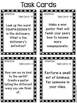 Compassionate - Go Character Ed - Positive Behavior Traits