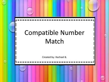 Compatible Numbers Match