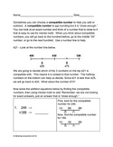 Compatible Numbers Worksheet