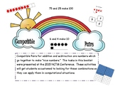 Compatible Pairs: Activities to Reinforce Making Friendly Numbers