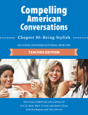 Compelling American Conversations Chapter 10: Being Stylish
