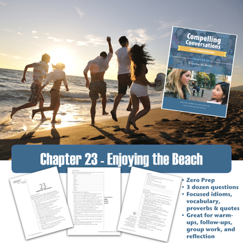 Compelling Conversations Chapter 23: Enjoying the Beach