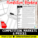Competition, Market, & Prices Reading Activity (SS5E3, SS5E3a)
