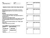 Competition for Biotic & Abiotic Factors Stamp & Dice Game