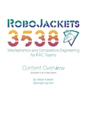 2016-2017 Edition Competitive Robotics Lesson Outline for FIRST (FRC) Teams