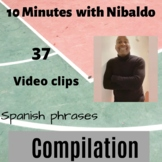 Compilation 10 minutes with Nibaldo- Spanish phrases