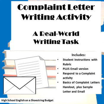 Complaint Letter Writing (Plus Complaint Email)