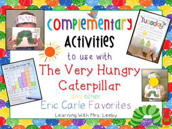 Complementary Activities - The Very Hungry Caterpillar & other Eric Carle Books