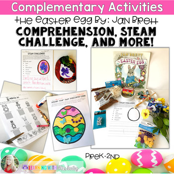 Complementary Activities to use with The Easter Egg by Jan Brett