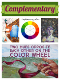 Complementary Color Scheme Poster
