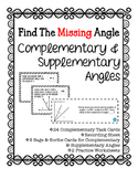 Complementary & Supplementary Angles Bundle
