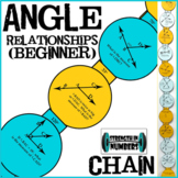 Complementary, Supplementary, Vertical Angles Paper Chain Beginner