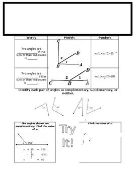 Glencoe Math Course 2 Volume 1 Worksheets & Teaching Resources | TpT