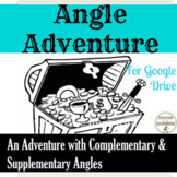 Complementary and Supplementary Angles Activity Digital Tr