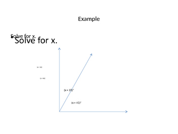 Complementary and Supplementary Angles with Algebra
