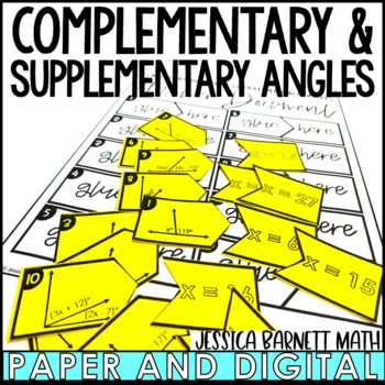 Complementary and Supplementary Matching Activity