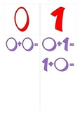 Complementary sum (0 - 10) - Red and purple
