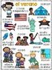 Completa el cuento - Verano (Summer - Bilingual)